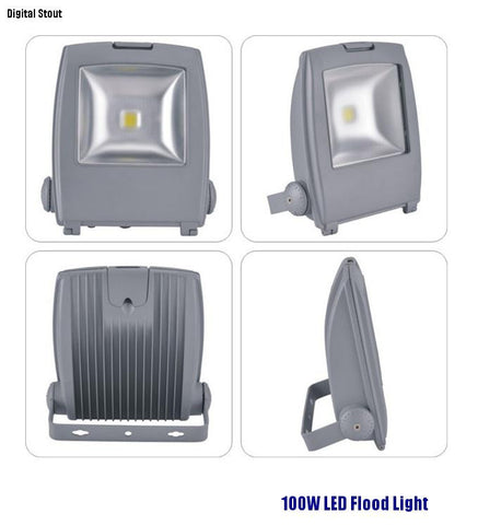 FRATER 100W LED Flood Light