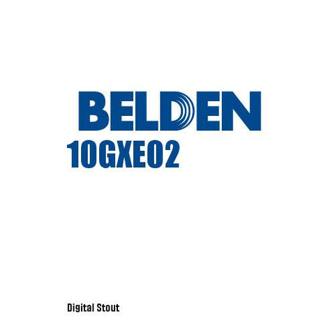 Belden 10GXE02 - Digital Stout