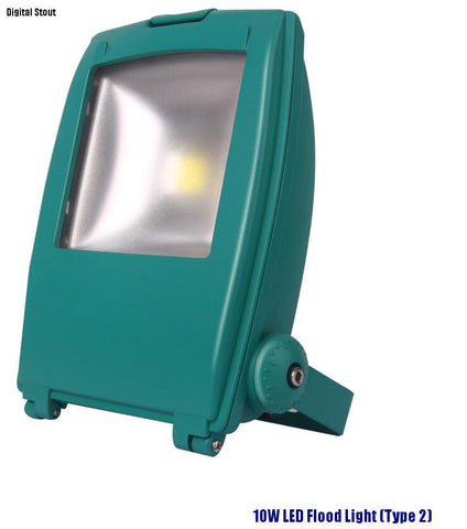 10W LED Flood Light (Type 2) - Digital Stout
