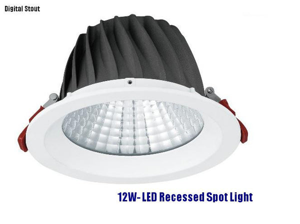 FRATER 12W- LED Recessed Spot Light