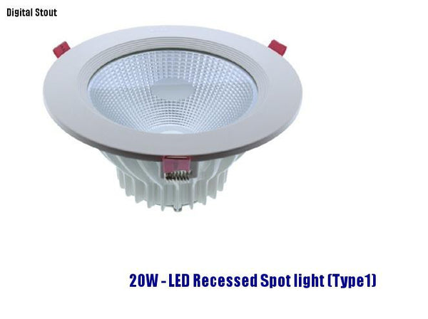 FRATER 20W - LED Recessed Spot light (Type1)