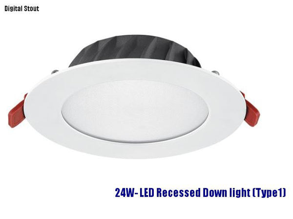 FRATER 24W- LED Recessed Down light (Type1)