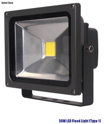 50W LED Flood Light (Type 1) - Digital Stout