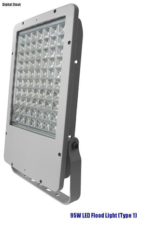 95W LED Flood Light (Type 1) - Digital Stout