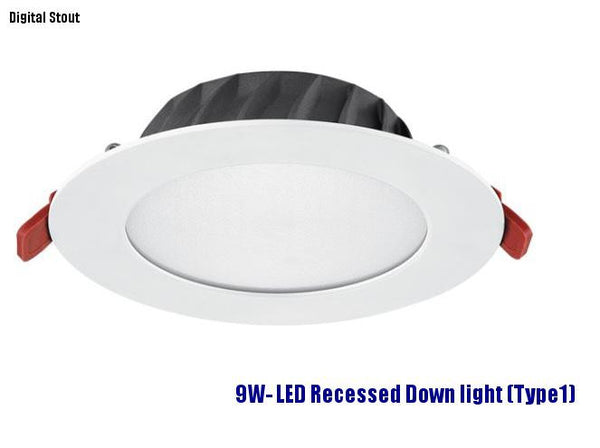 FRATER 9W- LED Recessed Down light (Type1)