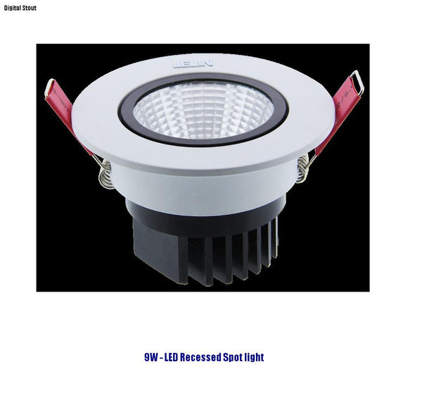 FRATER 9W - LED Recessed Spot light