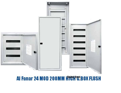 Al Fanar 24 MOD 200MM HIGH G.BOX FLUSH - Digital Stout