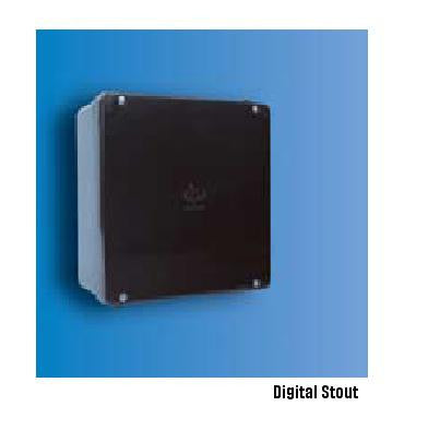 Decoduct DAB4 100x100x75mm ADAPTABLE BOX WITH RUBBER GASKET IP56