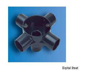 Decoduct DJF3 25mm INTERSECTION FOUR WAY