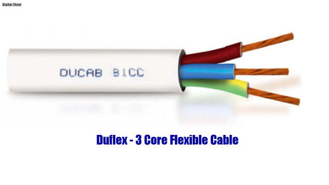 Duflex - 3 Core Flexible Cable