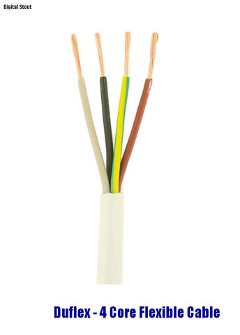 Duflex - 4 Core Flexible Cable