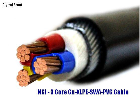 Blue Armored Cable : Suppliers of nci cable in uae digitalstout