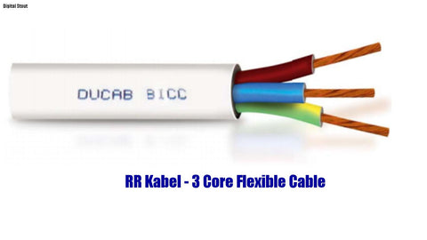 RR Kabel - 3 Core Flexible Cable