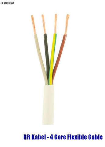 RR Kabel - 4 Core Flexible Cable