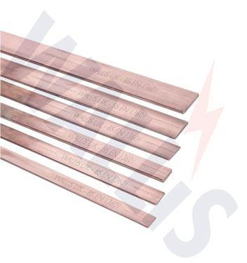 25x3mm Bare Copper Tape WALLIS TC 253 - Digital Stout