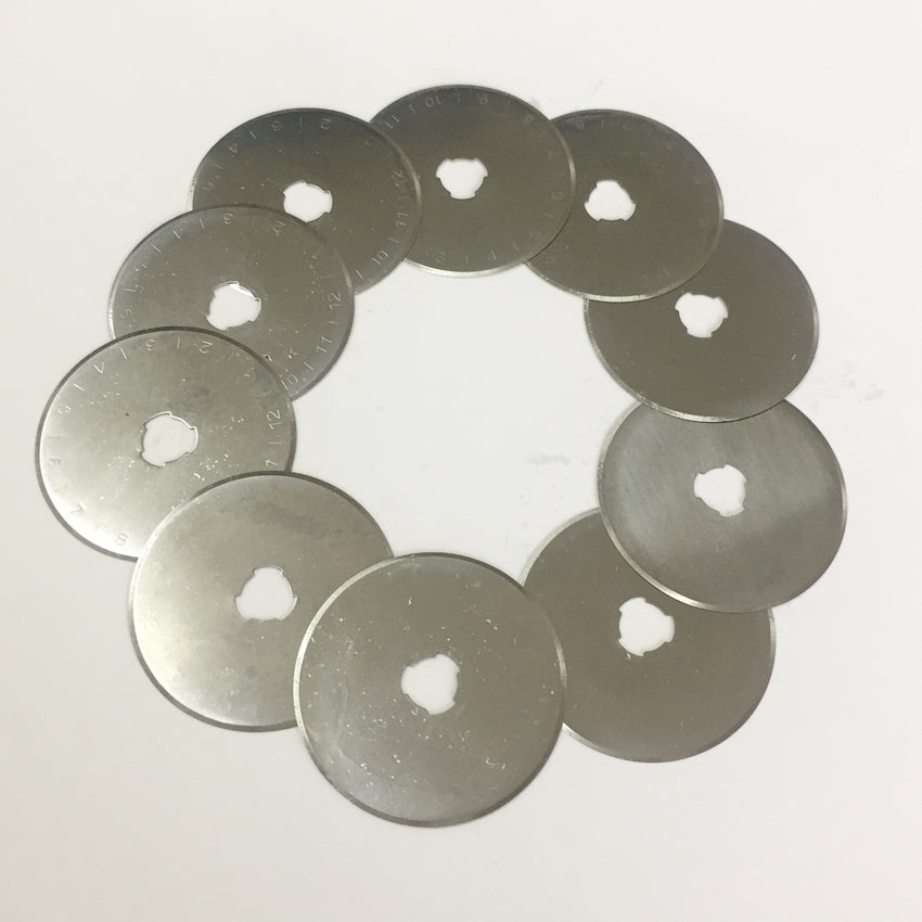 10pcs 45MM Rotary Cutter Blades (Free Shipping)