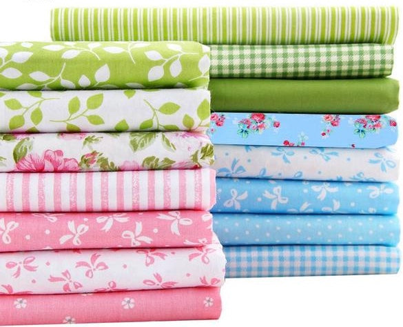 "15pcs ""Extra Fat"" Fat Quarter Cotton Fabric"