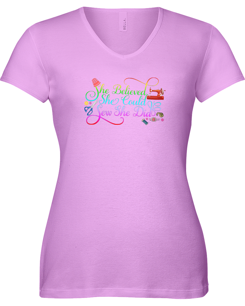 Sewing She Did Shirt - I Love Quilting Forever - 6