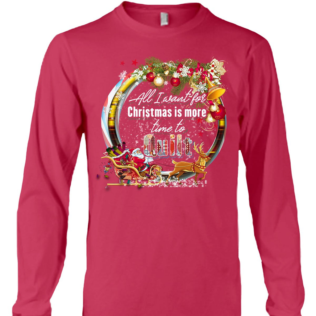 All I Want Christmas Shirt