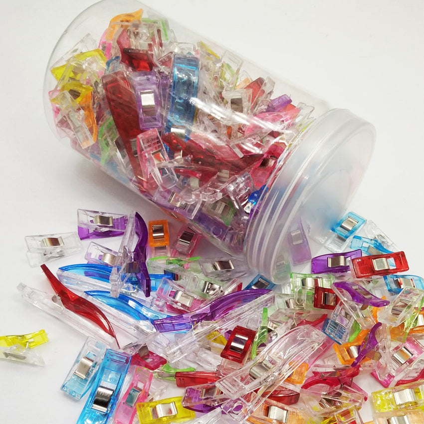 120pcs Sewing Clips Jar