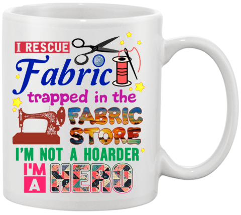 Sewing Hero Mug - I Love Quilting Forever