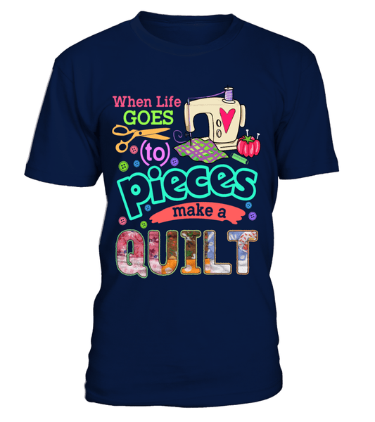 Quilting Pieces Shirt - I Love Quilting Forever - 1