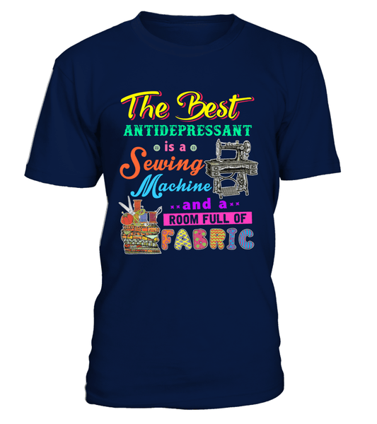 Sewing Antidepressant Shirt - I Love Quilting Forever - 1