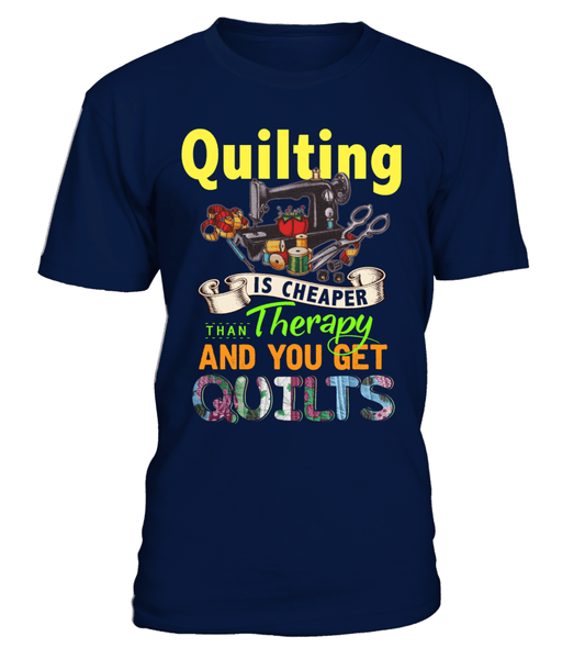 Quilting Therapy Shirt - I Love Quilting Forever - 1