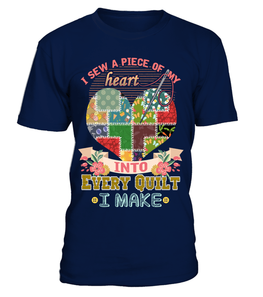 Quilting Piece 2 Shirt - I Love Quilting Forever - 1