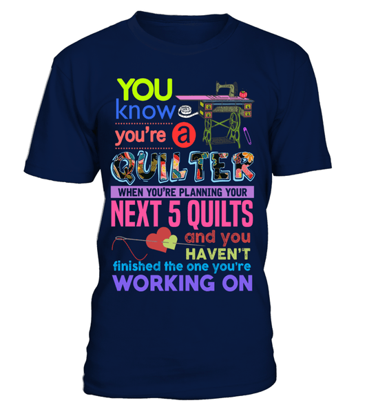 Quilting Next Shirt - I Love Quilting Forever - 1