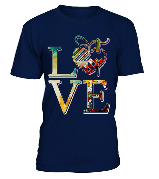Sewing Love Shirt - I Love Quilting Forever - 1