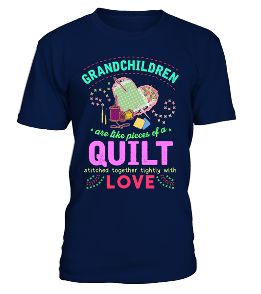 Quilting Grandchildren Shirt - I Love Quilting Forever - 1