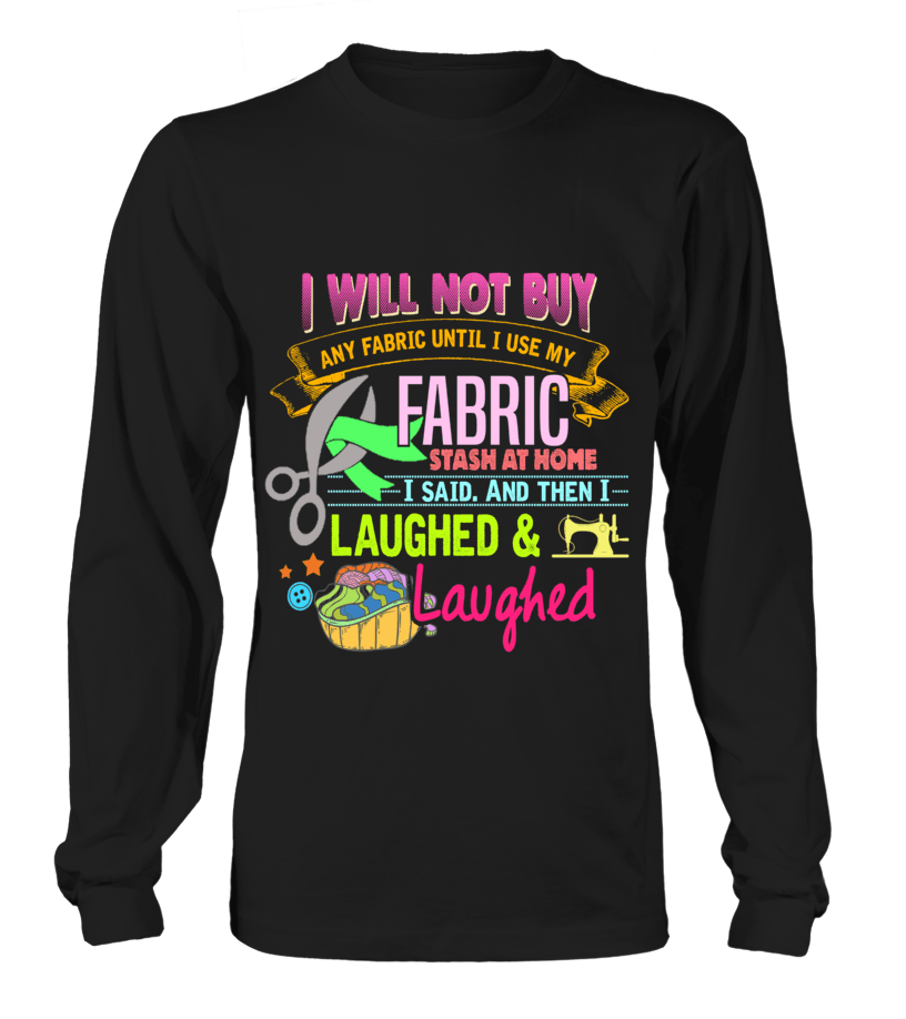 Sewing Stash Shirt - I Love Quilting Forever - 6
