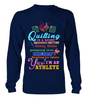 Quilting Athlete Shirt - I Love Quilting Forever - 10