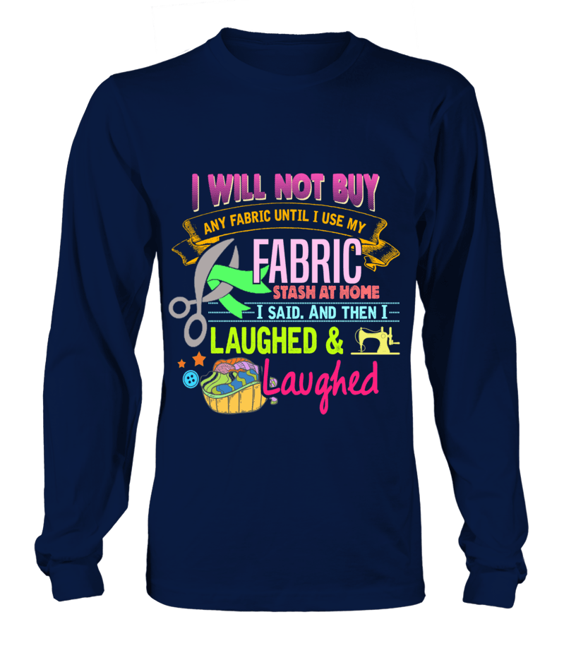 Sewing Stash Shirt - I Love Quilting Forever - 2