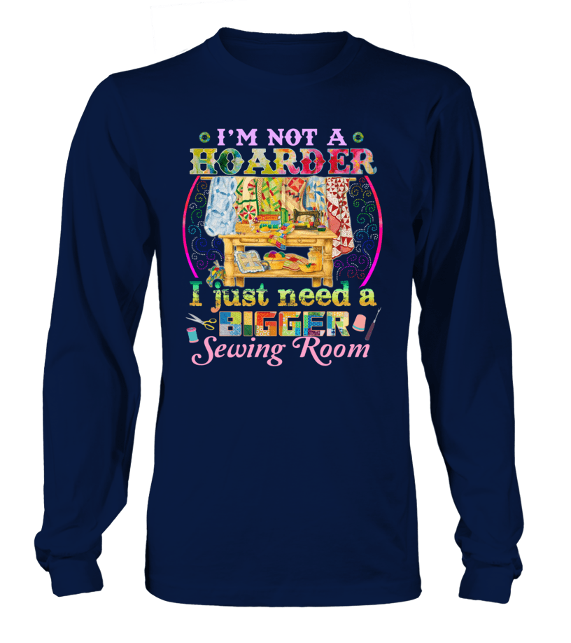 Sewing Hoarder Shirt - I Love Quilting Forever - 8