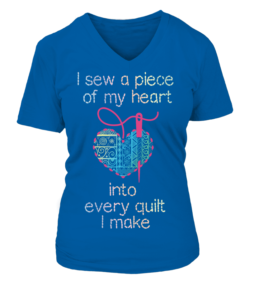 Quilting Piece Heart Shirt - I Love Quilting Forever - 17