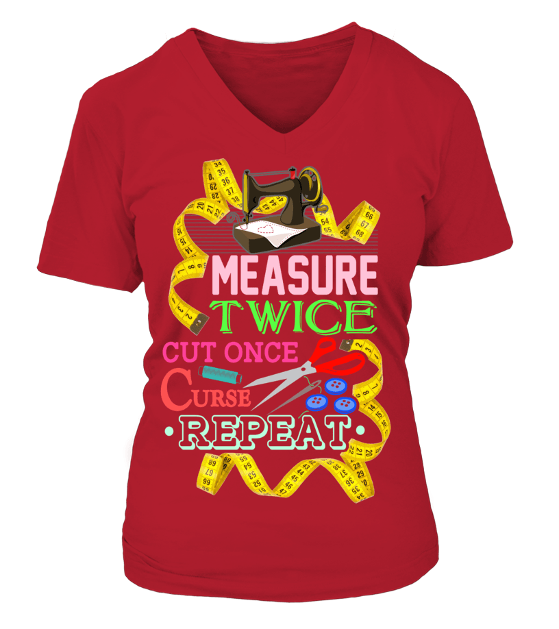 Sewing Measure Twice Shirt - I Love Quilting Forever - 9