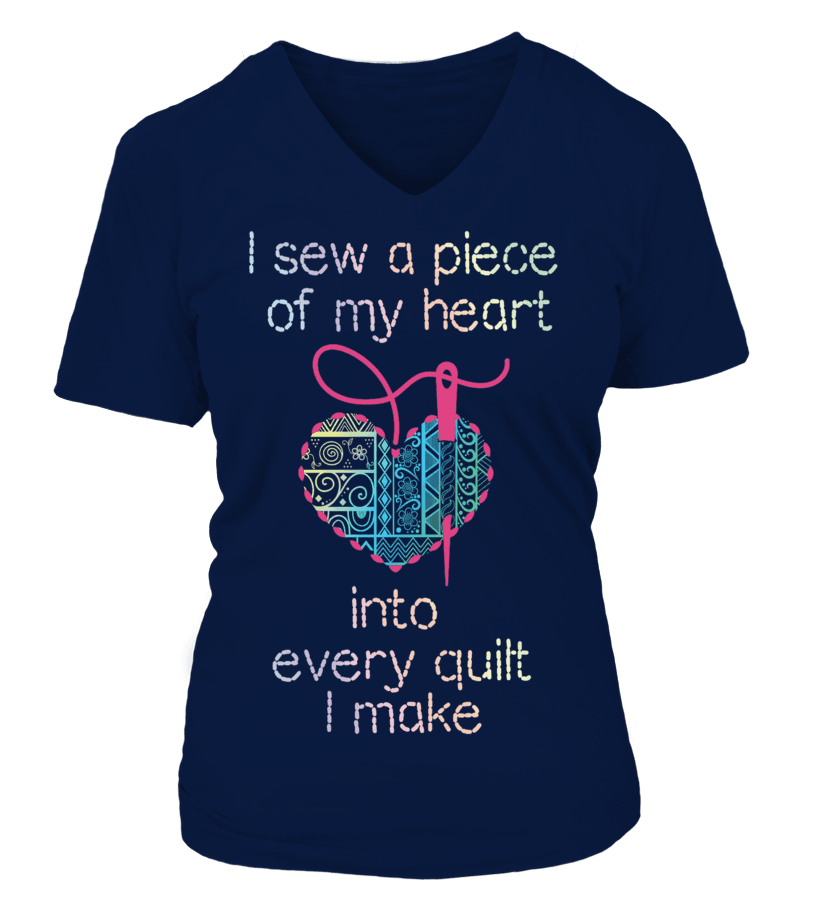 Quilting Piece Heart Shirt - I Love Quilting Forever - 4