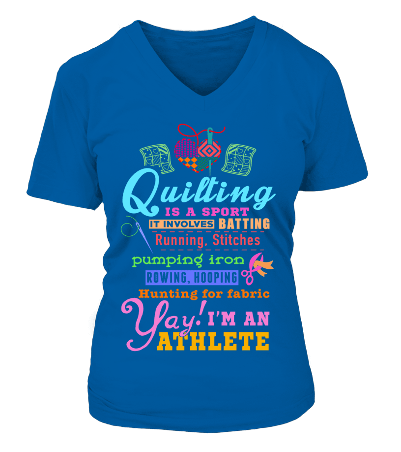Quilting Athlete Shirt - I Love Quilting Forever - 15