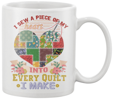 Quilting Piece 2 Mug - I Love Quilting Forever