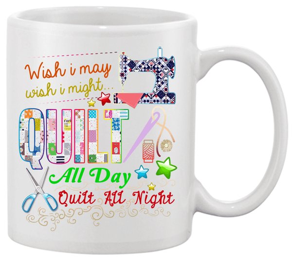 Quilting Wish Mug - I Love Quilting Forever
