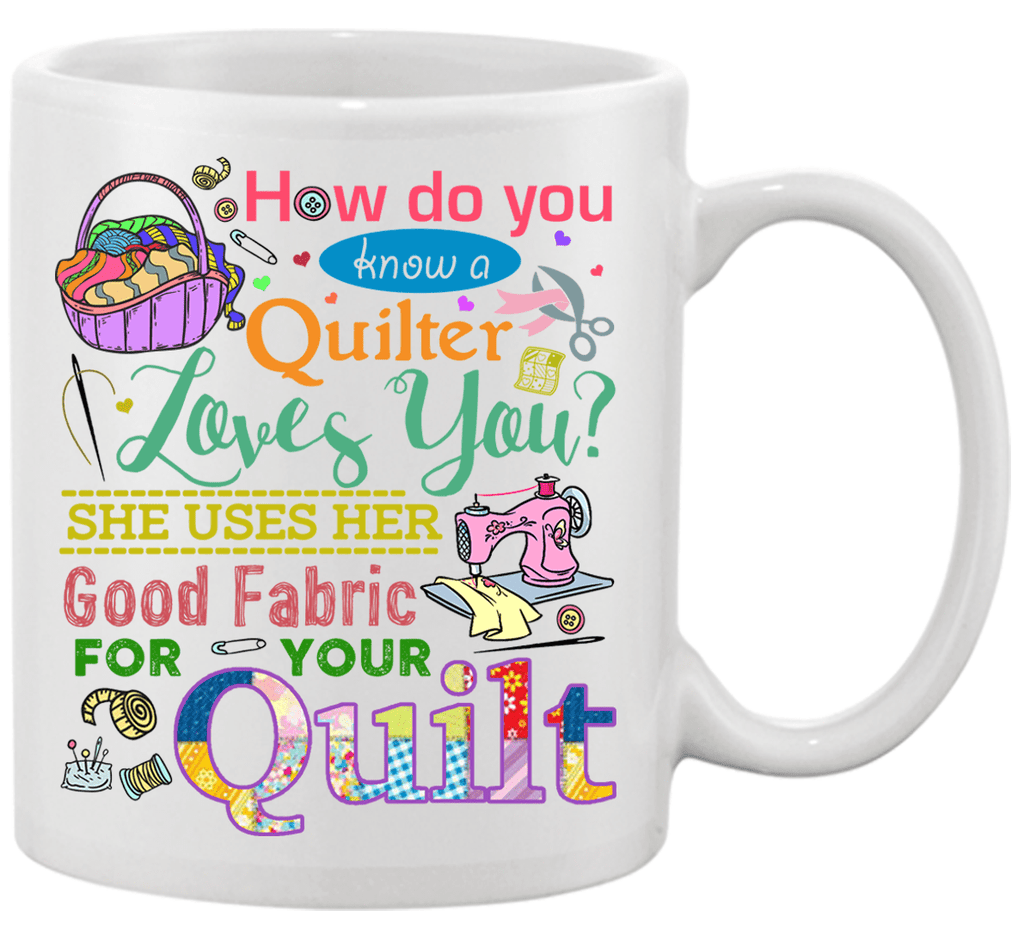 Quilting Good Mug - I Love Quilting Forever