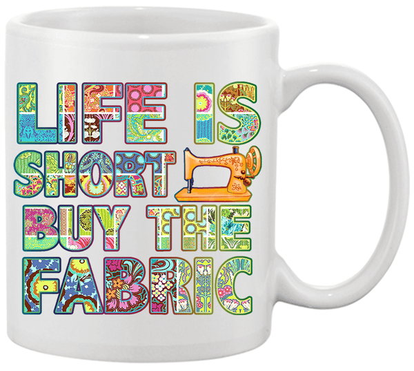 Sewing Short Mug - I Love Quilting Forever