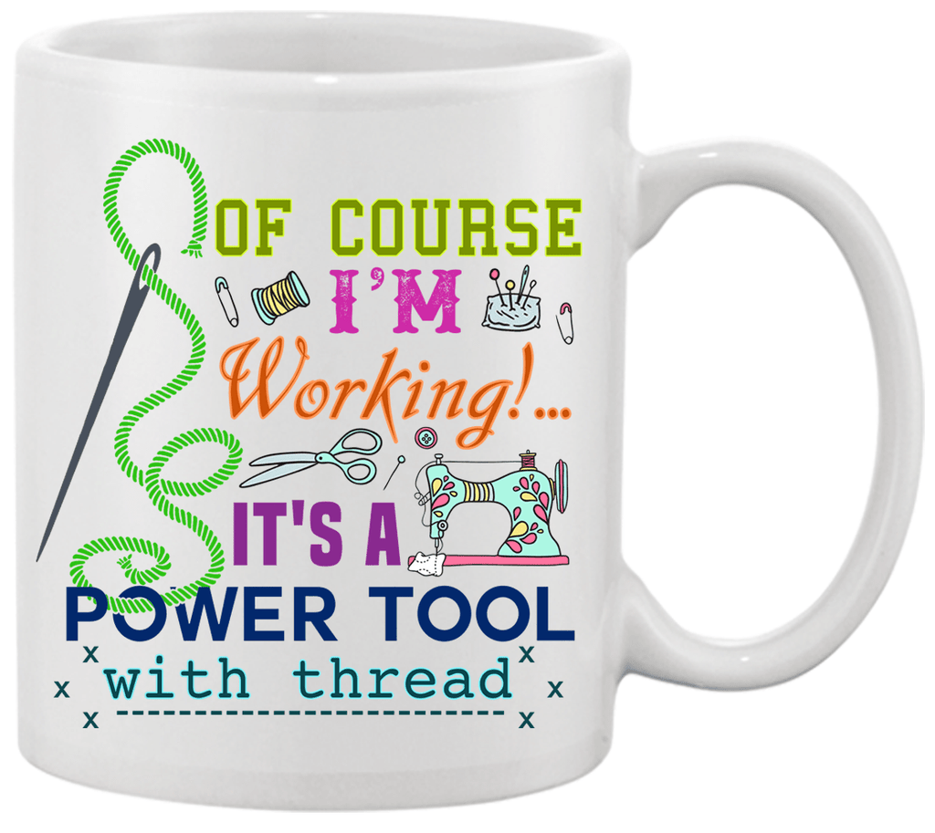 Sewing Working Mug - I Love Quilting Forever