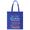 Quilting Athlete Tote Bag