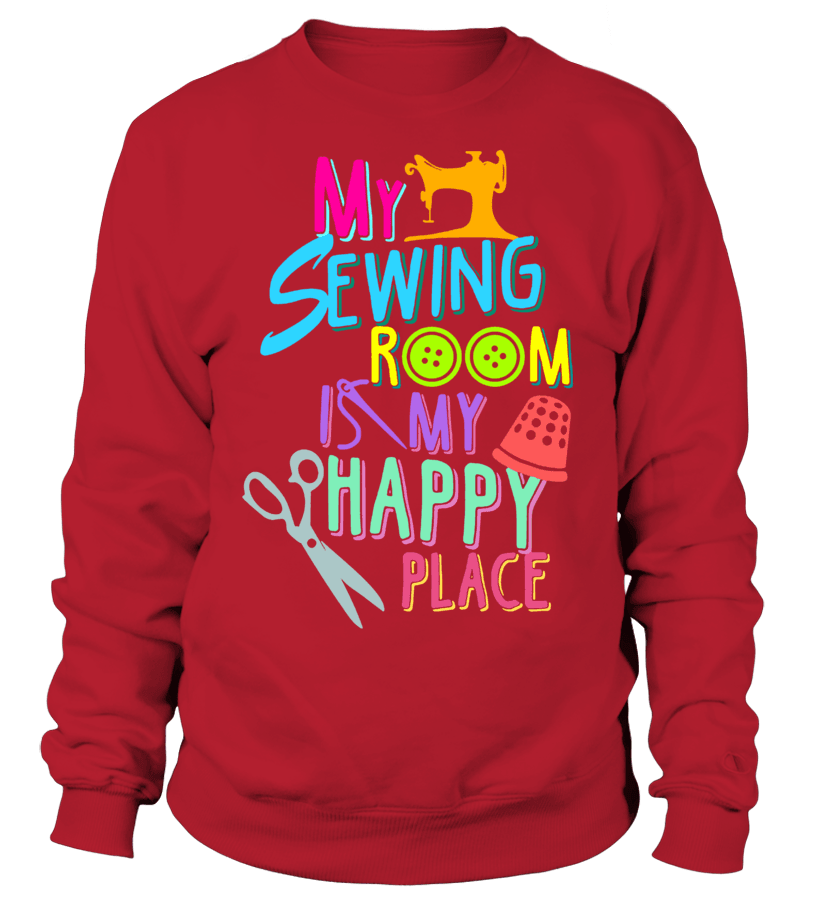 Sewing Room Shirt - I Love Quilting Forever - 4