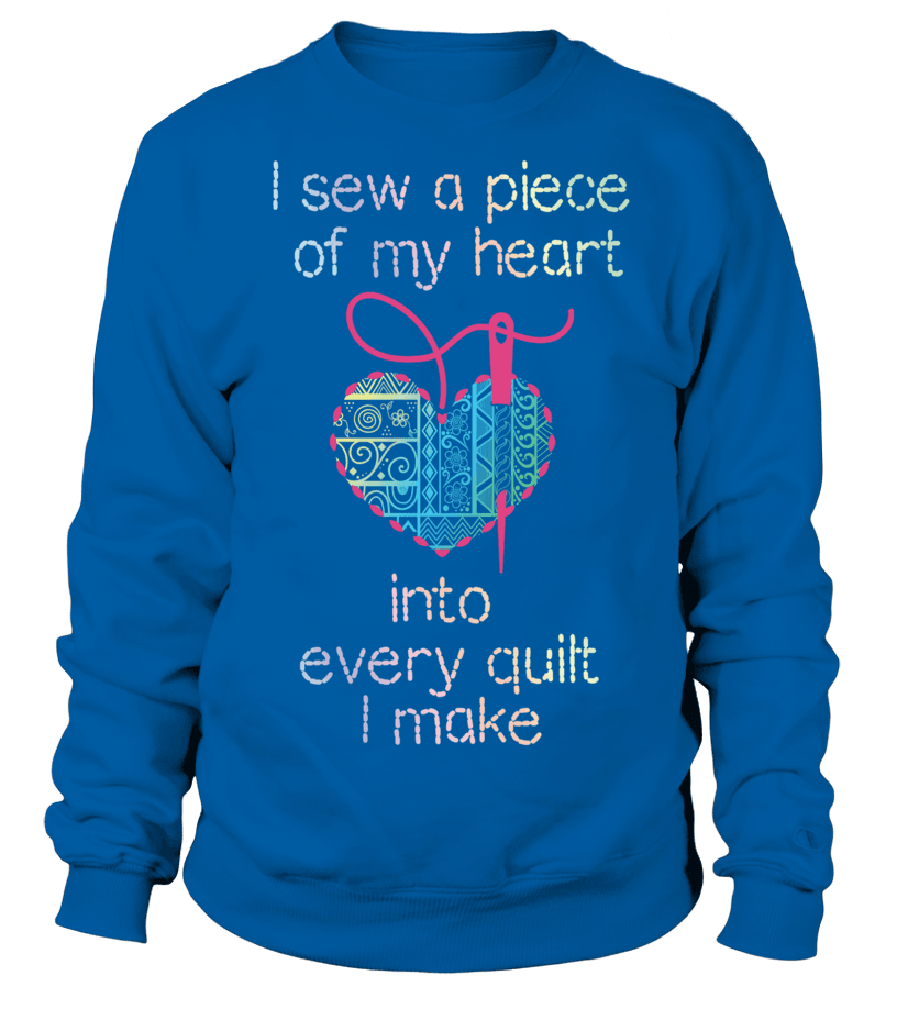 Quilting Piece Heart Shirt - I Love Quilting Forever - 16