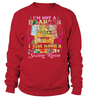 Sewing Hoarder Shirt - I Love Quilting Forever - 13