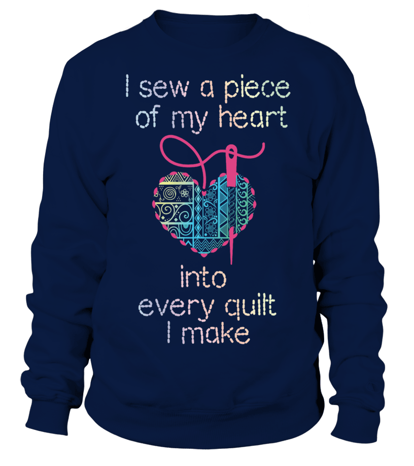 Quilting Piece Heart Shirt - I Love Quilting Forever - 3